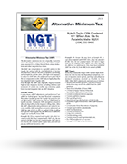 NGT Free Tax Brochures